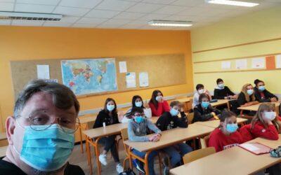 Éducation Routière de la Jeunesses (ERJ) au collèges Bellevue d'Alès